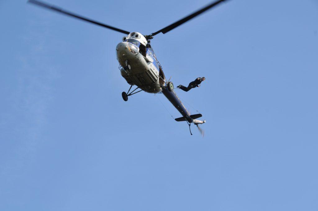 Падение с вертолета