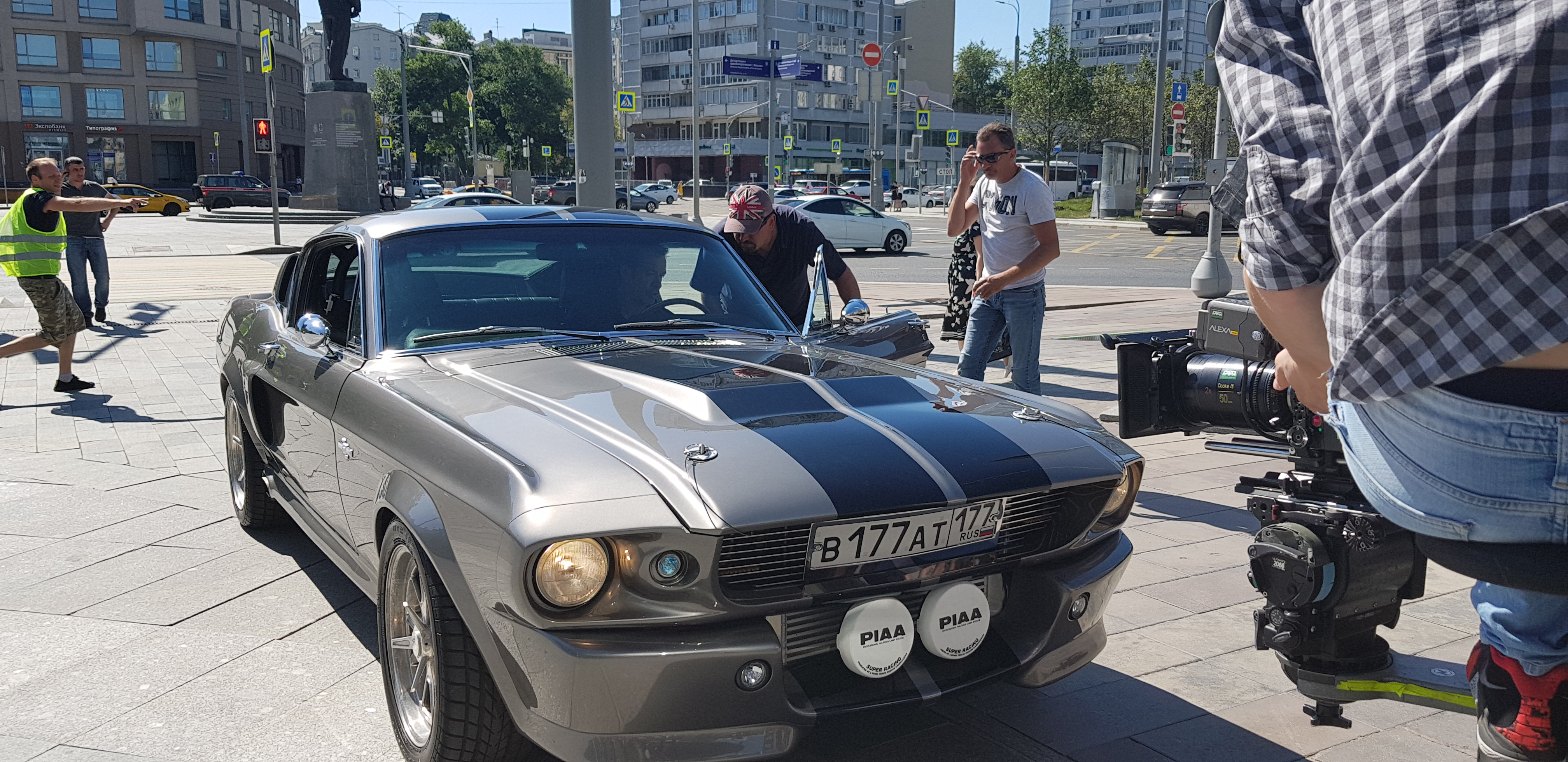 """Shelby GT 500 Eleanor на съемках кинокартины """"Миллиард"""""""