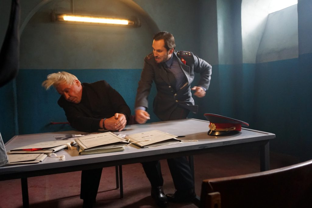 Shooting of Till Lindemann's music video - Ich hasse Kinder