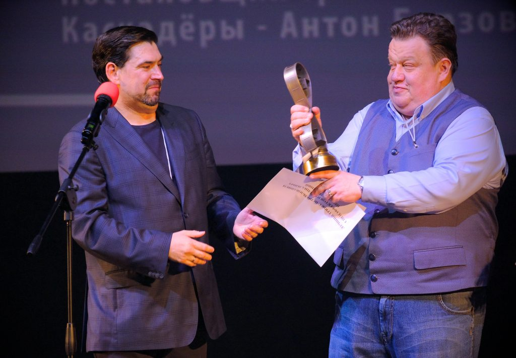 Stunt coordinator Alex Silkin stunt stuntmen award Alexander Bondarev