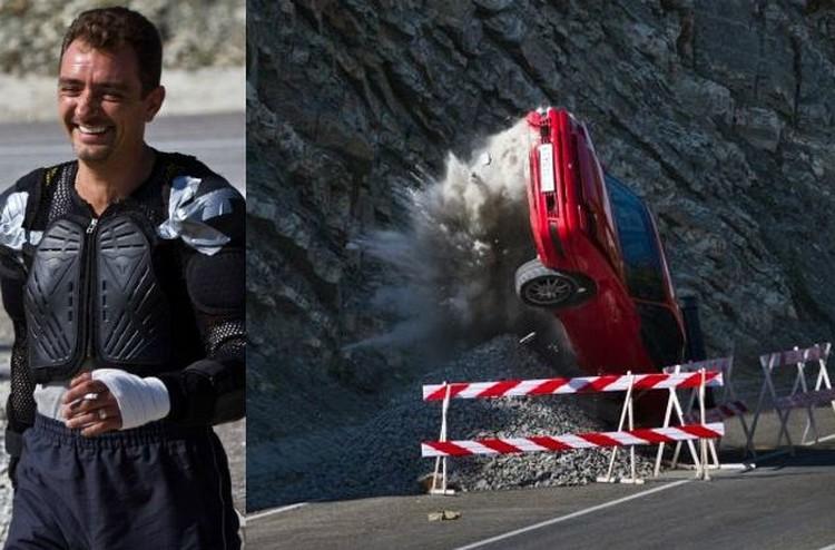 Авто трюки каскадеры в кино переворот авто авария погони
